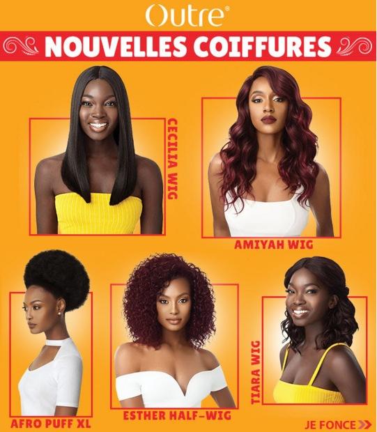 Arrivage nouvelles coiffures OUTRE, cliquer ici >>>