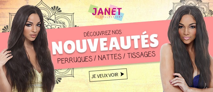 Les nouvelles coiffures de la marque JANET de Septembre 2018 >>>