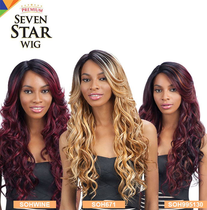 MODEL MODEL SEVEN STAR WIG