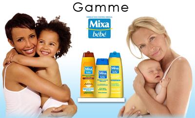 Gamme mixa bébé