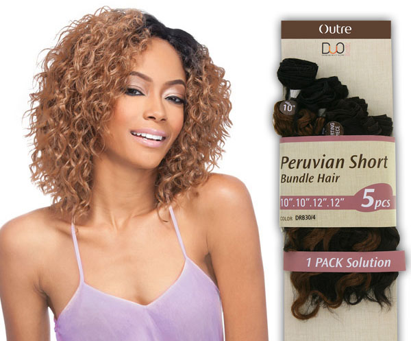 OTRE TISSAGE PERUVIAN SHORT BUNDLE HAIR