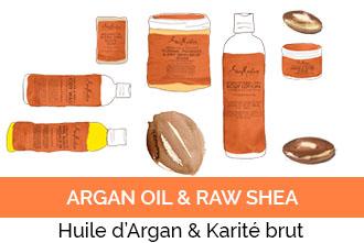 Découvrez la gamme Argan Oil & Raw Shea