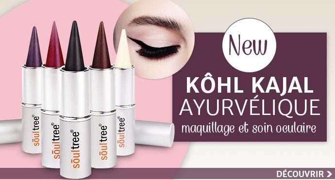 Nouveau crayon KHOL KAJAL de la marque SOULTREE