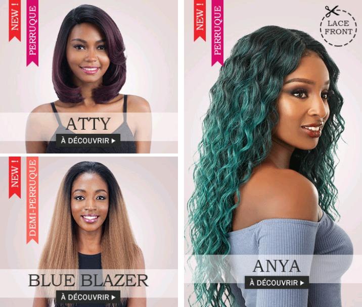 Toutes les coiffures d'AOUT 2018 sont déjà disponibles ici >>>