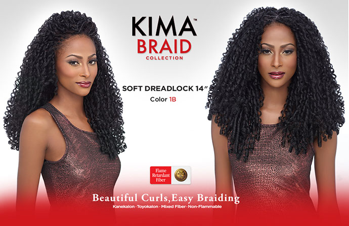 SOFT DREADLOCK KIMA BRAID HARLEM 125