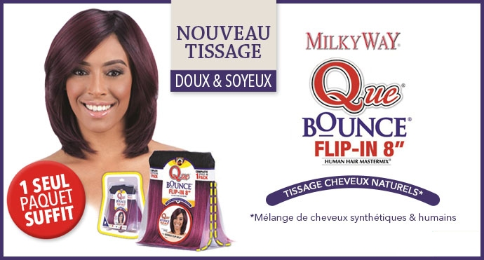 Tissage Bounce Flip In de Milkyway