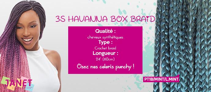JANET, 3S HAVANNA BOX BRAID