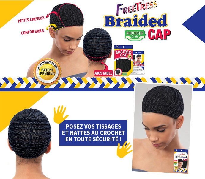FREETRESS BONNET TISSAGE & CROCHET