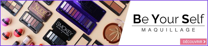 Une marque à prix canon Be Yourself maquillage
