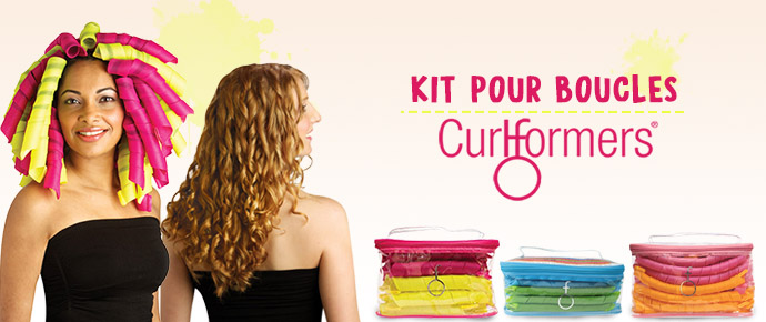 CURLFORMERS, kit pour boucles