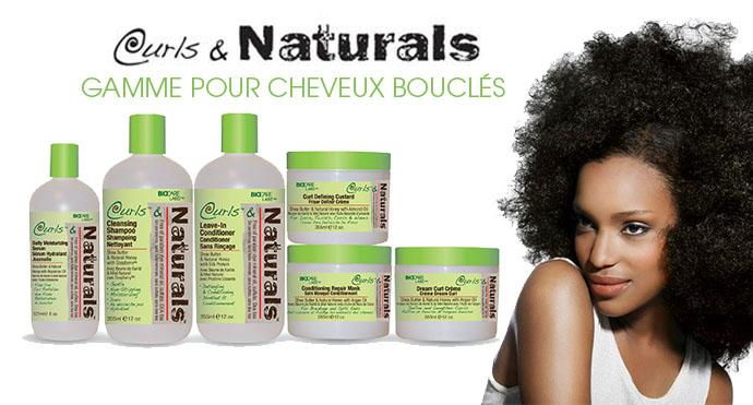 CURLS & NATURALS GAMME CHEVEUX BOUCLES - superbeaute.fr