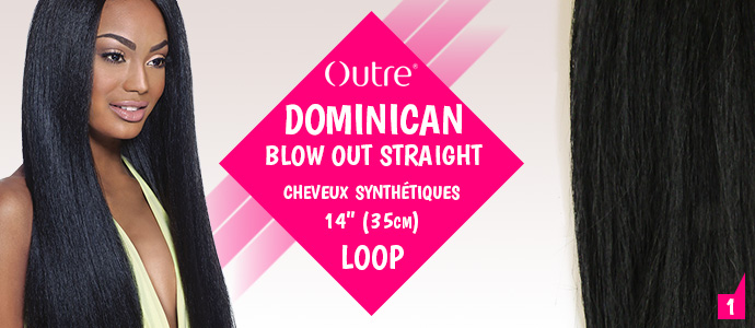 OUTRE, dominican blow out straight