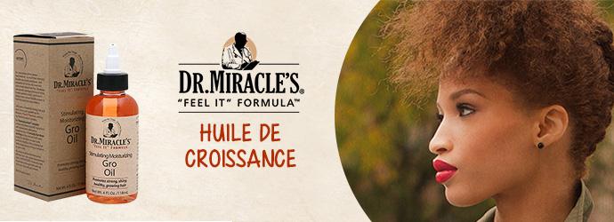 DR.MIRACLE'S, huile de croissance