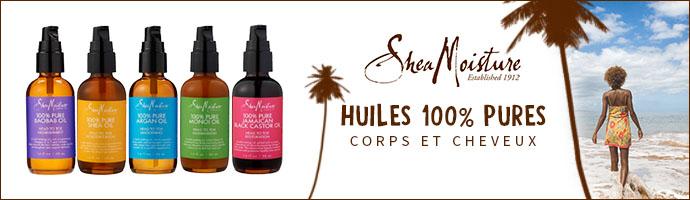 SHEA MOISTURE HUILE CORPS & CHEVEUX 100% PURES