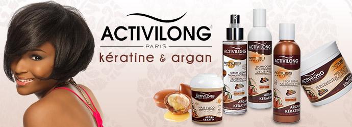 ACTIVILONG, kératine et argan