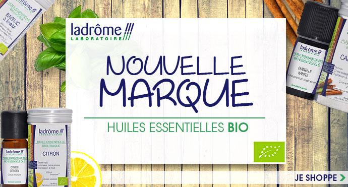 Découvrez un choix incroyable d'huiles essentielles BIO de la marque LADRÔME