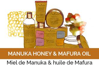 Découvrez la gamme Manuka Honey & Mafura Oil