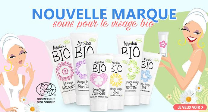 Nouvelle marque Marilou Bio