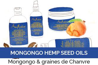 Découvrez la gamme Mongongo & graines de Chanvre