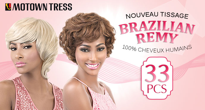 MOTOWN TRESS TISSAGE CHEVEUX HUMAINS HRW 33
