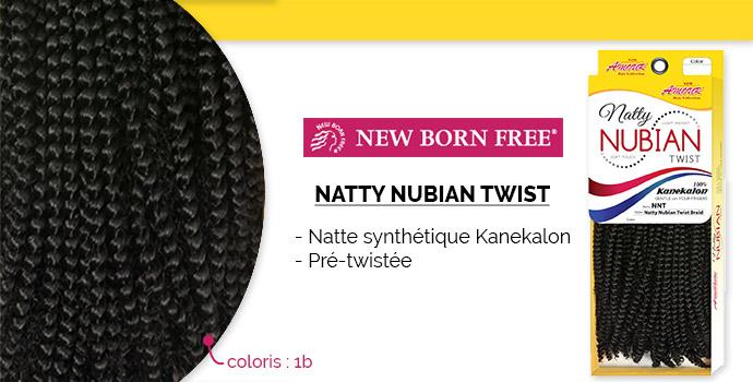 NEW BORN FREE, natty nubian twist
