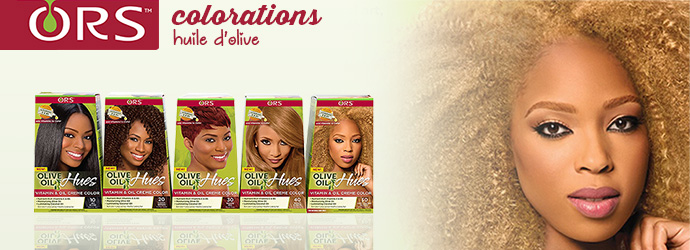 ORS, colorations olive oil HUES