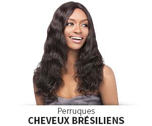 Perruques cheveux Brésiliens