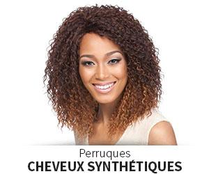 Perruques en cheveux synthétiques