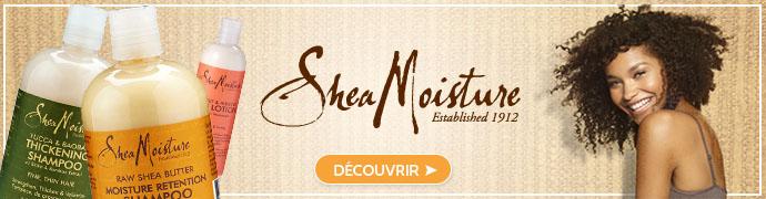 Découvrez les produits de la marque SHEA MOISTURE
