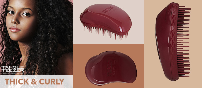 TANGLE TEEZER, thick & curly