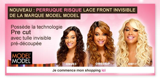Nouveau: perruque RISQUE lace front invisible de la marque MODEL MODEL