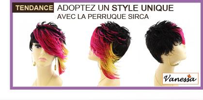 Adoptez un style unique avec la Perruque SIRCA