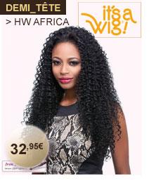It's a Wig demi tête HW AFRICA