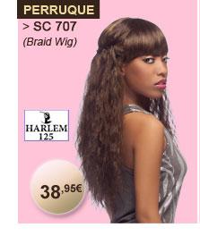 Harlem 125 perruque perruque SC 707 (Braid wig)