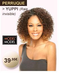 Model Model perruque YUPPI (raie invisible)