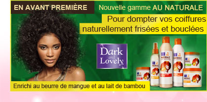 Nouvelle gamme Dark Lovely Au Naturale