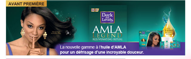 Dark and Lovely nouvelle gamme huile d Amla