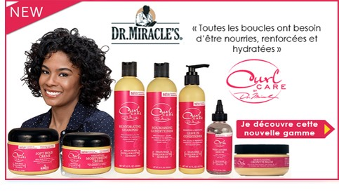 Nouvelle gamme Curl Care de Dr Miracle
