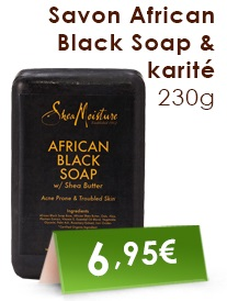 Savon African Black Soap