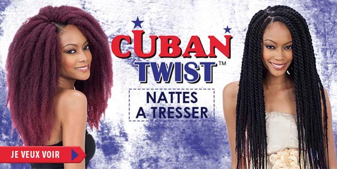 Nattes a tresser Cuban Twist