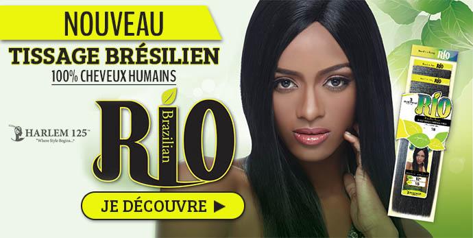Nouveau tissage Bresilien Rio de Harlem 125