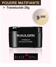 Black Opal poudre matifiante translucide