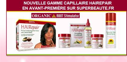 Nouvelle gamme capillaire Hairepair
