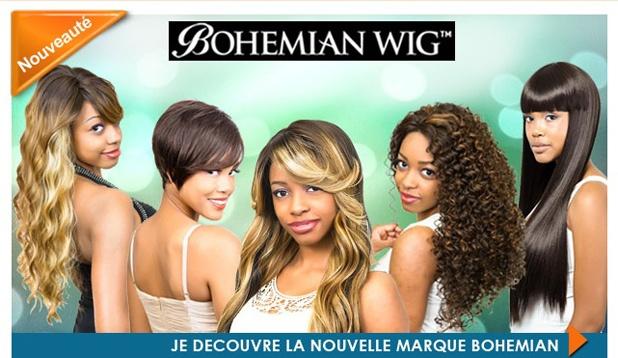 Nouvelle marque de perruques BOHEMIAN