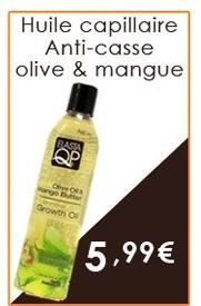 Huile anti-casse olive et mangue 337ml (Growth Oil)