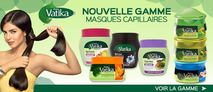 Masques capillaires Vatika