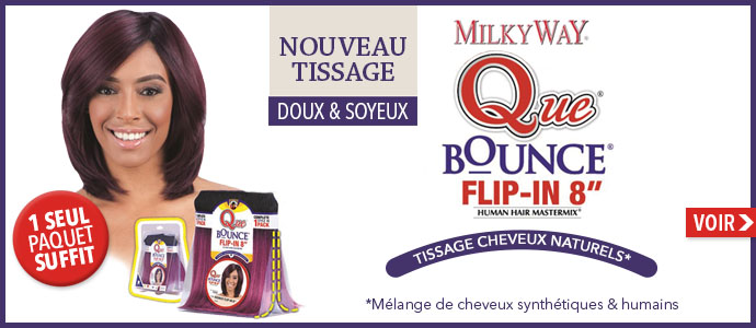 Nouveau tissage Milkyway Bounce Flip