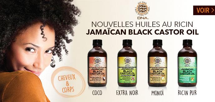 Nouvelles huiles au Ricin Black Castor