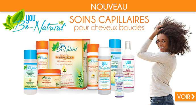 Soins capillaires You Be Natural