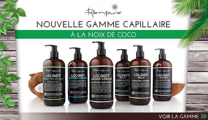 Nouvelle gamme Coco de RENPURE